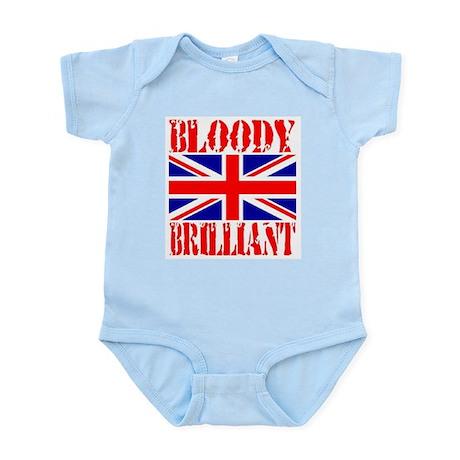 Bloody Brilliant -- UK Infant Creeper