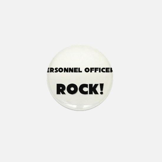 Personnel Officers ROCK Mini Button