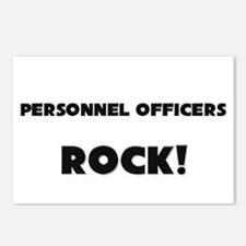 Personnel Officers ROCK Postcards (Package of 8)
