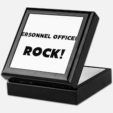 Personnel Officers ROCK Keepsake Box