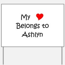 Ashlyn Yard Sign