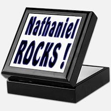Nathaniel Rocks ! Keepsake Box