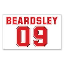 BEARDSLEY 09 Rectangle Decal