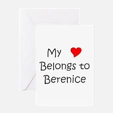 Berenice Greeting Card