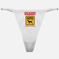 Redbone Coonhound Classic Thong