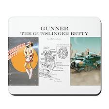 Gunslinger Betty: Gunner Mousepad