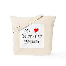 Cute Belinda Tote Bag