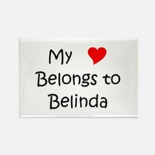 Unique Belinda Rectangle Magnet