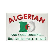 Good Lkg Algerian 2 Rectangle Magnet