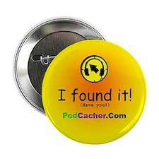 """Podcacher 2.25"""" Button (100 pack)"""