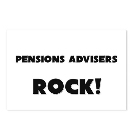 Pensions Advisers ROCK Postcards (Package of 8)