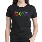 Vote with Pride - OBAMA Women's Dark T-Shirt