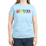 Vote with Pride - OBAMA Women's Light T-Shirt