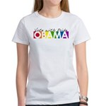 Vote with Pride - OBAMA Women's T-Shirt