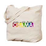 Vote with Pride - OBAMA Tote Bag