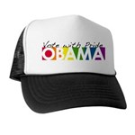 Vote with Pride - OBAMA Trucker Hat