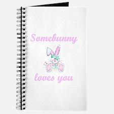 Somebunny Loves You (girl) Journal