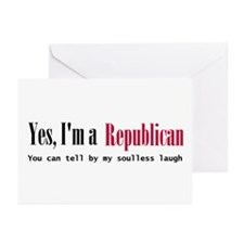 Yes Republican Greeting Cards (Pk of 10)