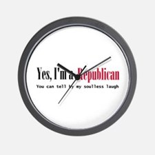 Yes Republican Wall Clock