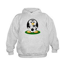 Soccer penguin Hoodie
