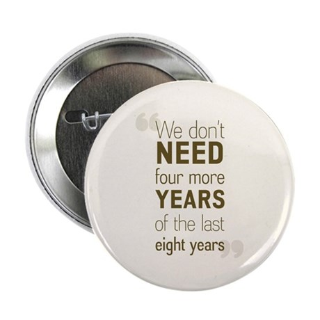 4 Years Anti McCain button