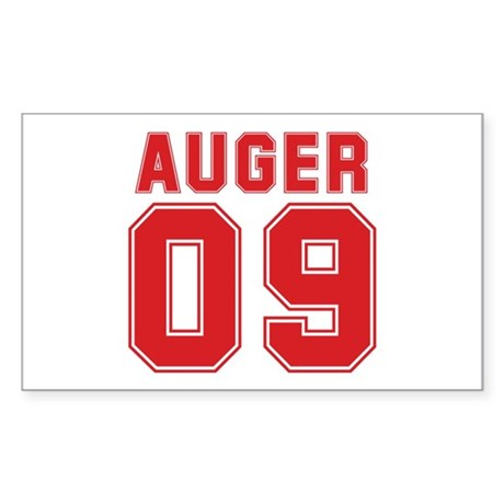 AUGER 09 Rectangle Sticker