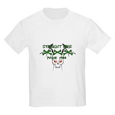 Straight Edge Poison Free II Kids T-Shirt