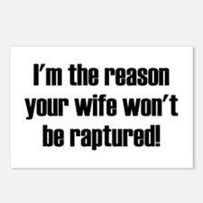 not your wife Postcards (Package of 8)