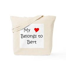 Funny Bert Tote Bag