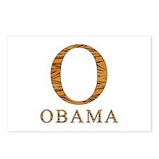 Tiger Obama O Postcards (Package of 8)