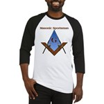 Masonic Sportsman - Fisherman - Baseball Jersey