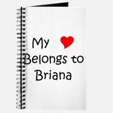 Unique Briana Journal