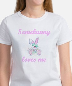 Somebunny Loves Me (girl) Women's T-Shirt
