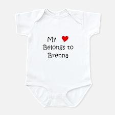 Cute Brenna Infant Bodysuit