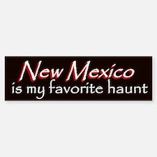 New Mexico Haunt Bumper Sticker - Red