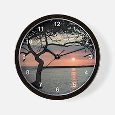 Sunset Carmel, Ca. Wall Clock