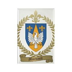 MORNAULT Family Crest Rectangle Magnet (10 pack)