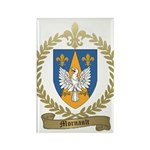 MORNAULT Family Crest Rectangle Magnet
