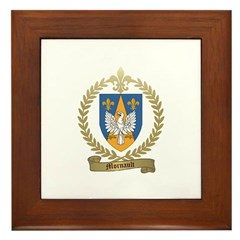 MORNAULT Family Crest Framed Tile
