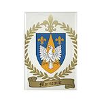 MORNEAULT Family Crest Rectangle Magnet (100 pack)