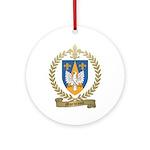 MORNEAULT Family Crest Ornament (Round)