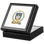 MORNEAULT Family Crest Keepsake Box