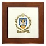 MORNEAULT Family Crest Framed Tile