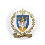 """MORNEAULT Family Crest 3.5"""" Button (100 pack)"""