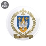 """MORNEAULT Family Crest 3.5"""" Button (10 pack)"""