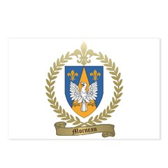 MORNEAU Family Crest Postcards (Package of 8)