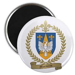 MORNEAU Family Crest Magnet