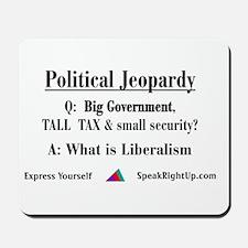 Political Jeopardy Mousepad