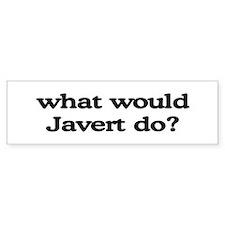 Javert Bumper Bumper Sticker