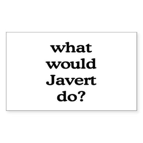 Javert Rectangle Sticker